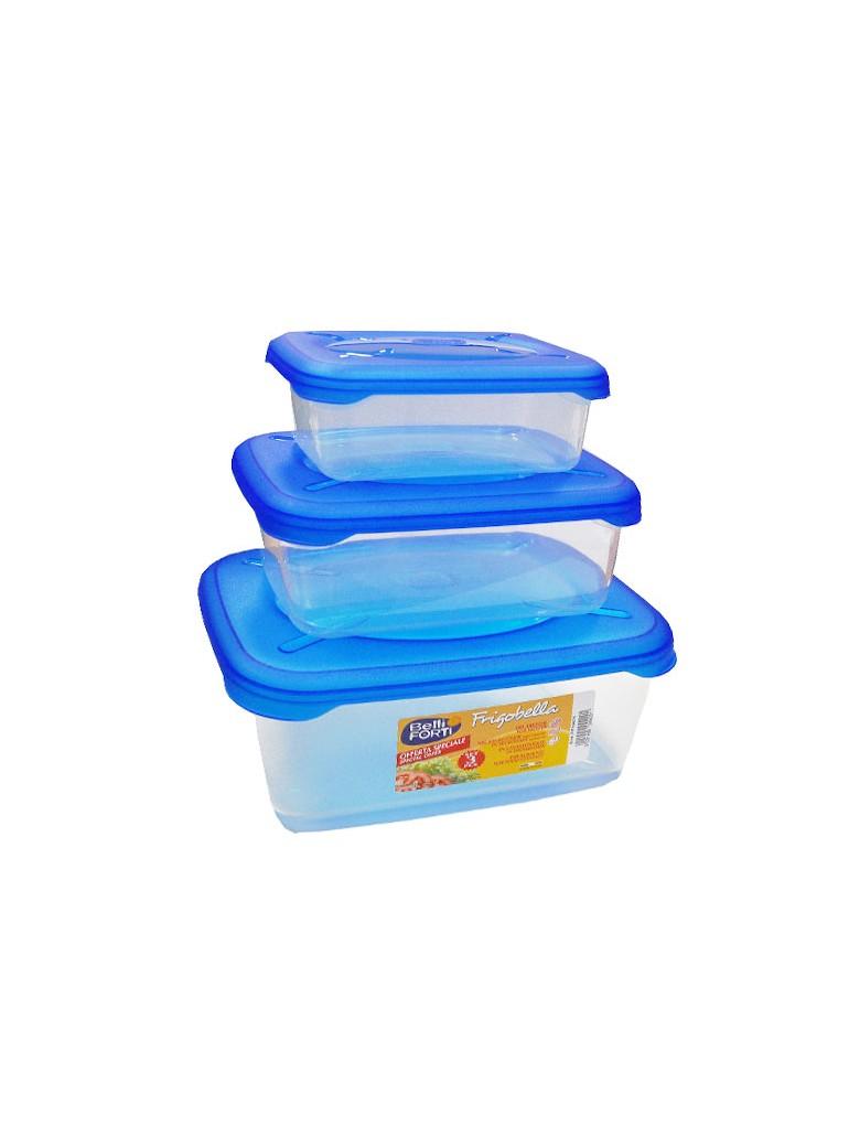 set 3 contenitori plastica...
