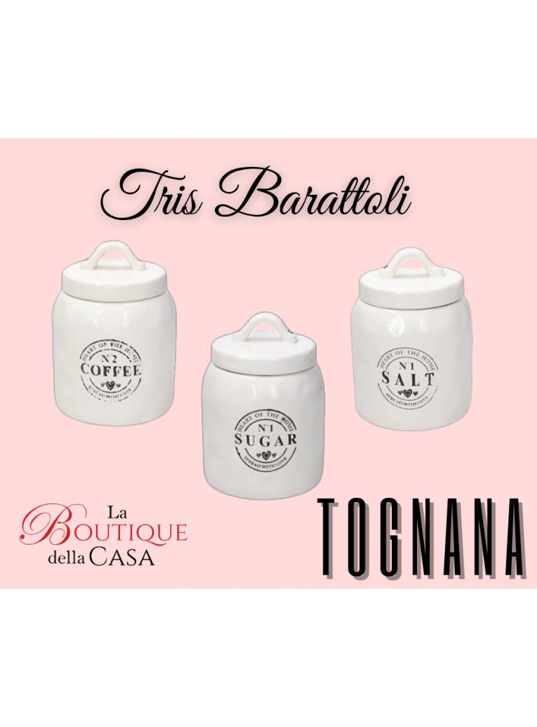 Tris Barattoli Tognana in...