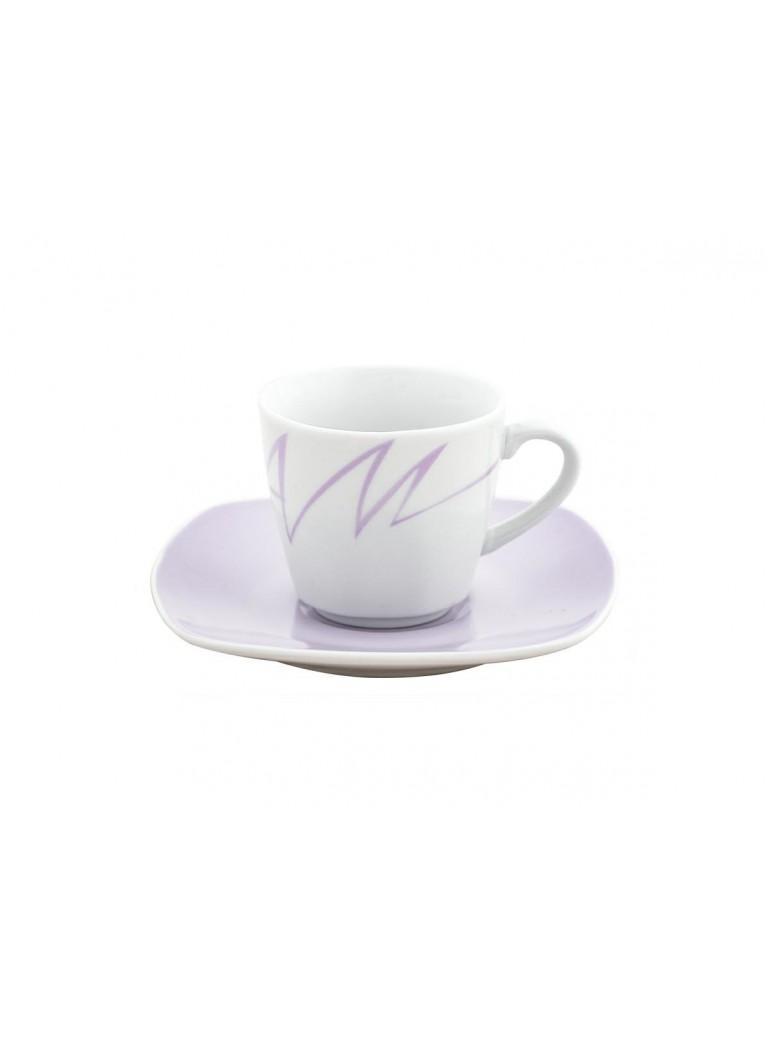 Tazza da caffè con piatto...