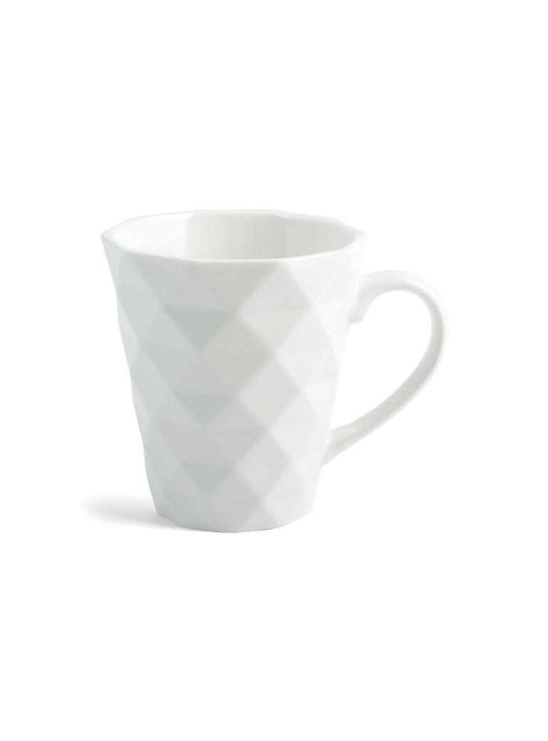 Mug Diamante  Bianco cc 270