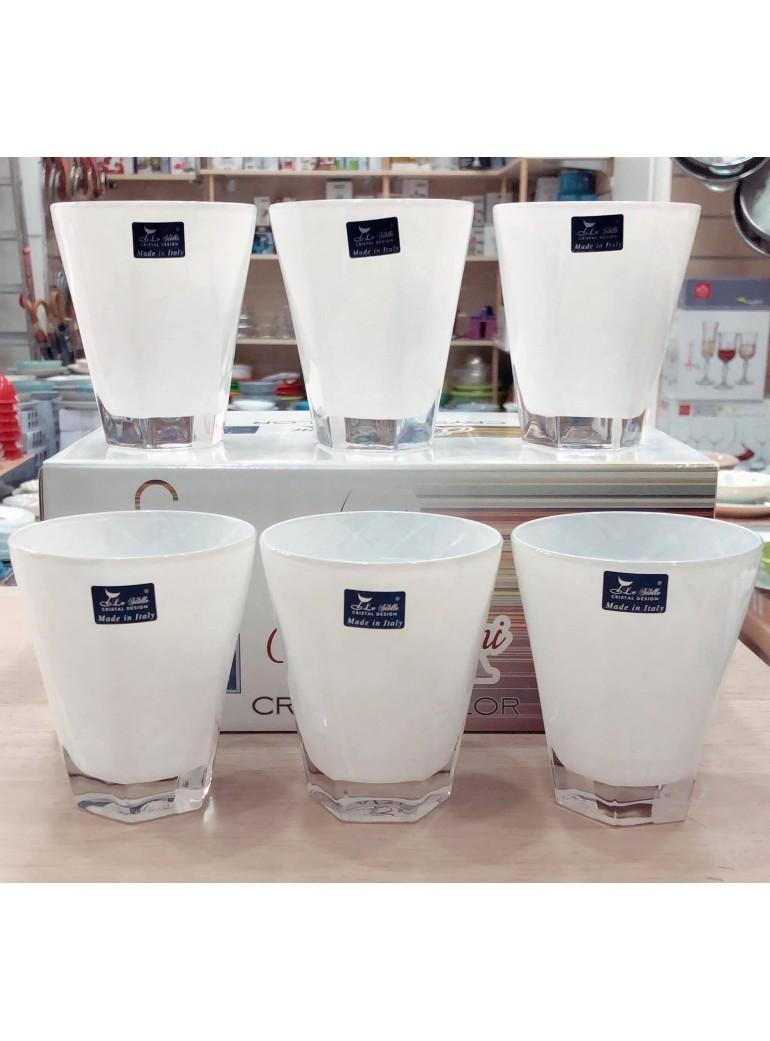 Prisma Bicchiere bianco 6 pz