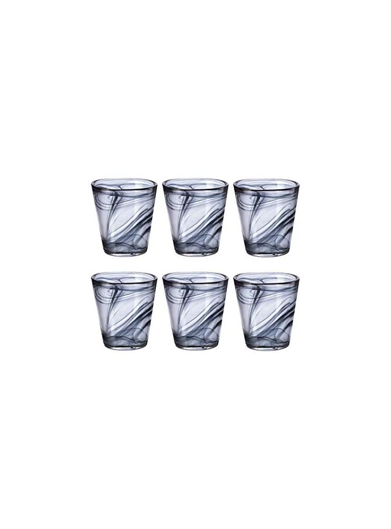 bicchiere capri nero...