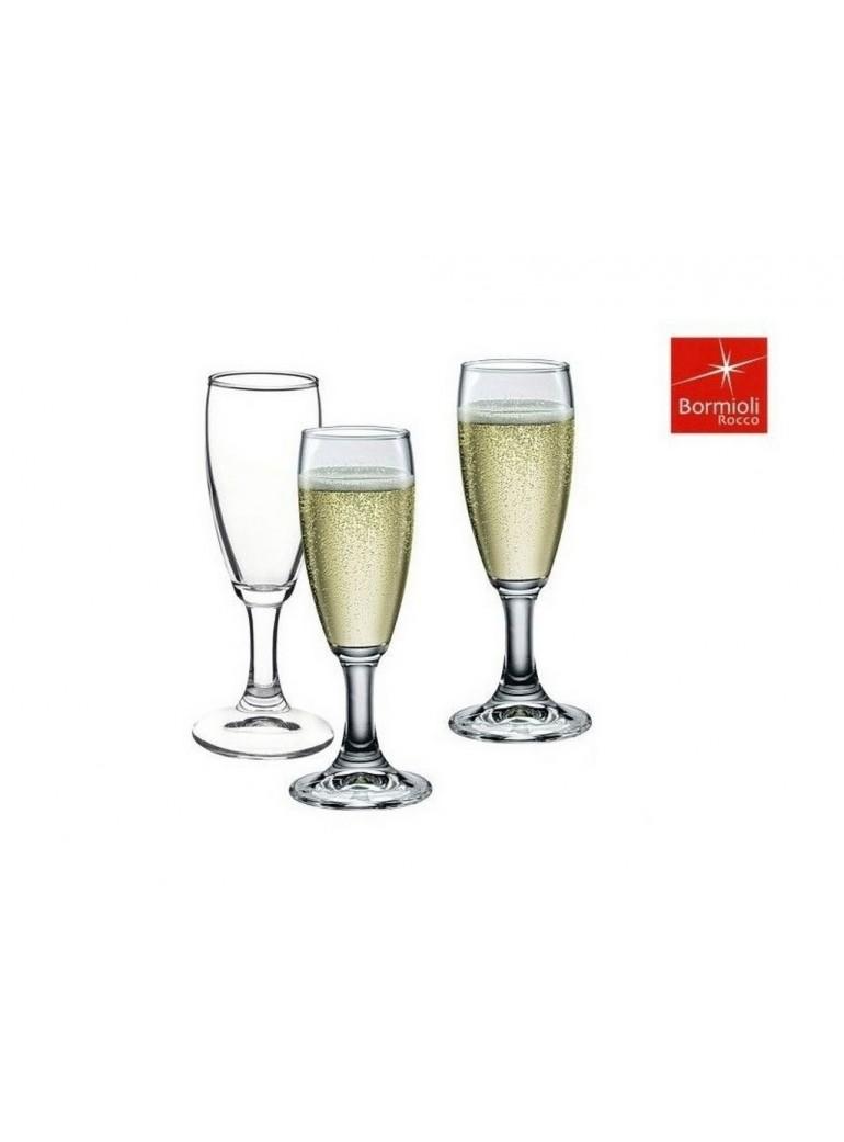 calice champagne bormioli 6 pz